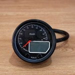 ACEWELL ACE-MA085-264 BLACK SPEEDOMETER AND TACHOMETER