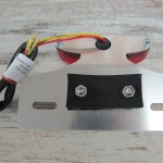 LED TAILLIGHT WITH LICENCE PLATE MOUNT