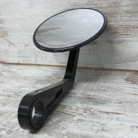 HANDLE BAR END MIRROR MONTANA BLACK