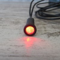 "8MM (5/16"") LED RED INDICATOR"