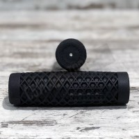 "VANS®/CULT V-TWIN GRIPS 7/8"" BLACK"