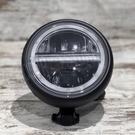 "LED HEADLAMP PECOS TYPE 6 5 3/4"", BOTTOM MOUNT"