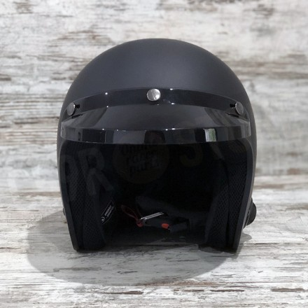 SENA SAVAGE HELMET SOLID BLACK WITH BLUETOOTH