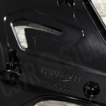 INTAKE COVERS BLACK FOR TRIUMPH SPEED TWIN