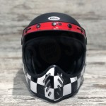 HELMET BELL MOTO 3 FASTHOUSE CHECKERS