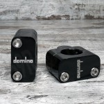 DOMINO BLACK CLAMPS FOR UPGRADE TO 28,6MM HANDLEBAR