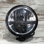 "LED HEADLAMP BATES TYPE 6 5 3/4"", BOTTOM MOUNT"