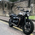 MOTONE SATURN V INOX DOUBLE EXHAUST FOR STREET TWIN