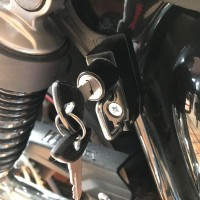 LOCK WITH KEY FOR HELMET RIGHT SIDE FOR TRIUMPH BONNEVILLE, SCRAMBLER AND THRUXTON R