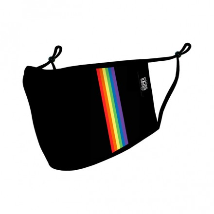 AMERICAN SOCKS RAINBOW FACE MASK